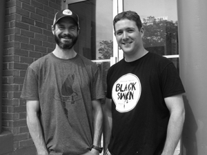 Bruce Pepper and Ryan Stokes | Black Swan Brewing